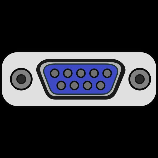 Desktop monitor plug