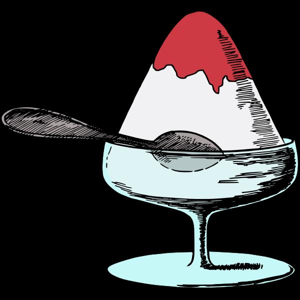 Ice dessert