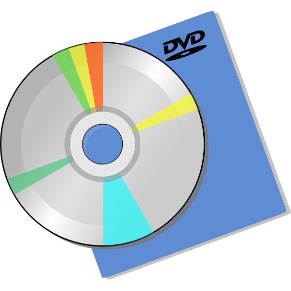 DVD disc over a sleeve image