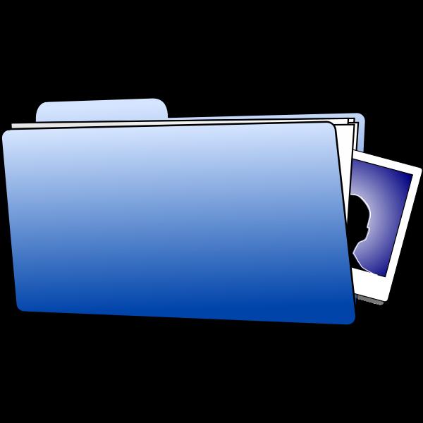 Office folder vector graphics