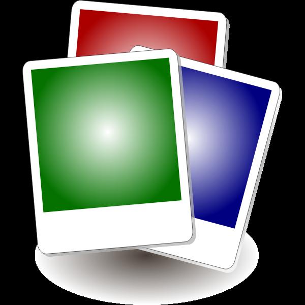 Vector clip art of photo gallery icon