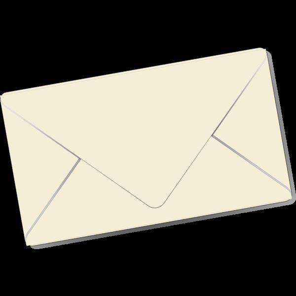 Sealed envelope vector clip art