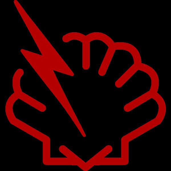 Vector image of shellshock bug