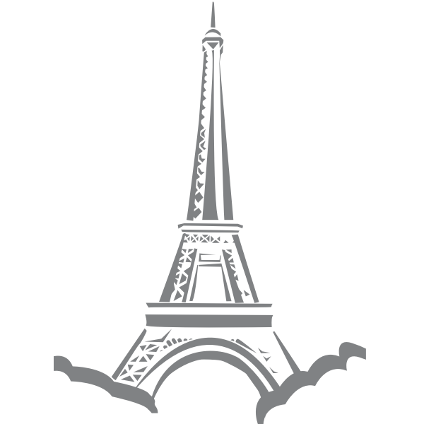 Eifflel tower vector image