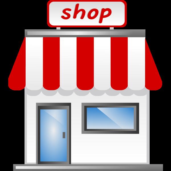Vector illustration of storefront v