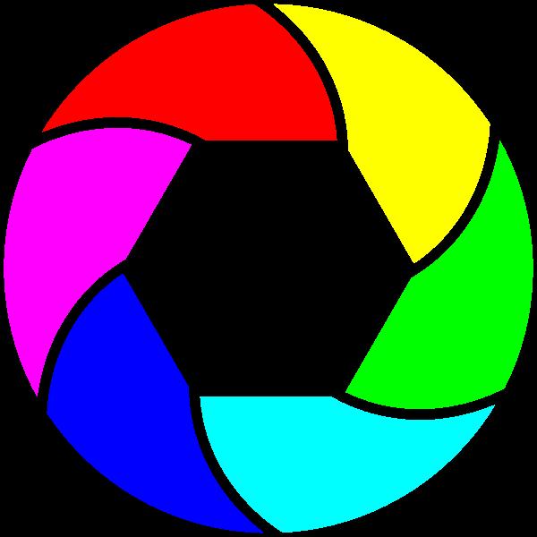 Shutter Icon color clip art