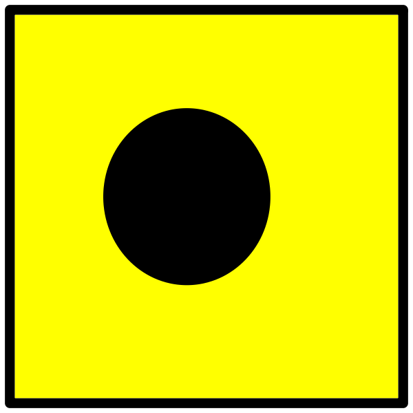 Signal flag in India