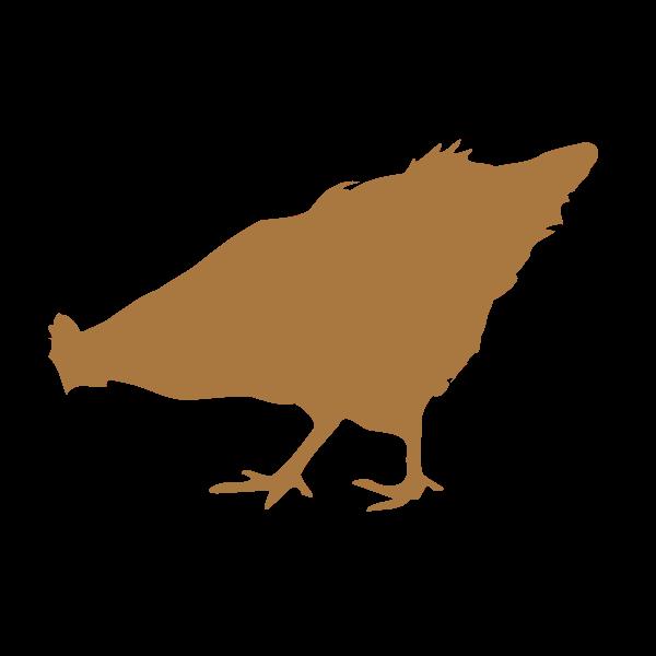 Chick silhouette