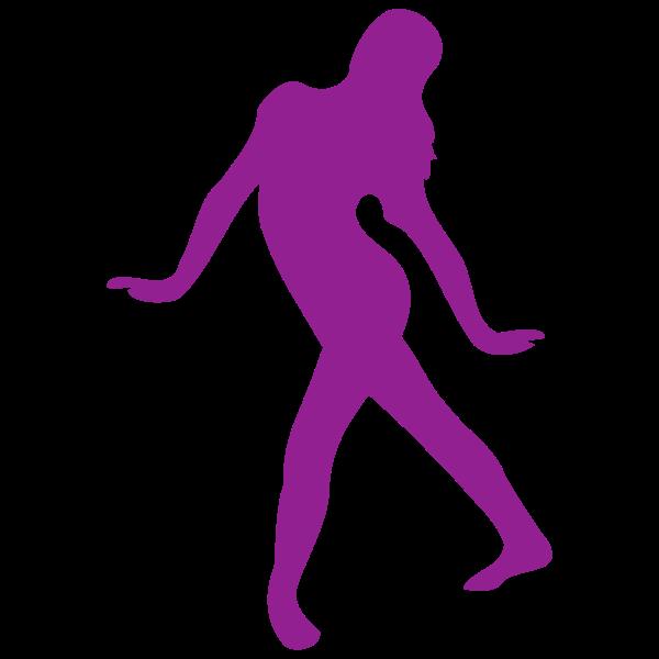 Purple dancer image