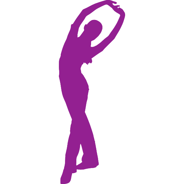 Stretching lady