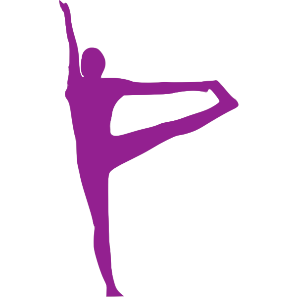 Woman stretching image