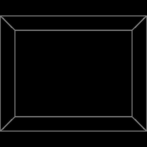 Plain frame