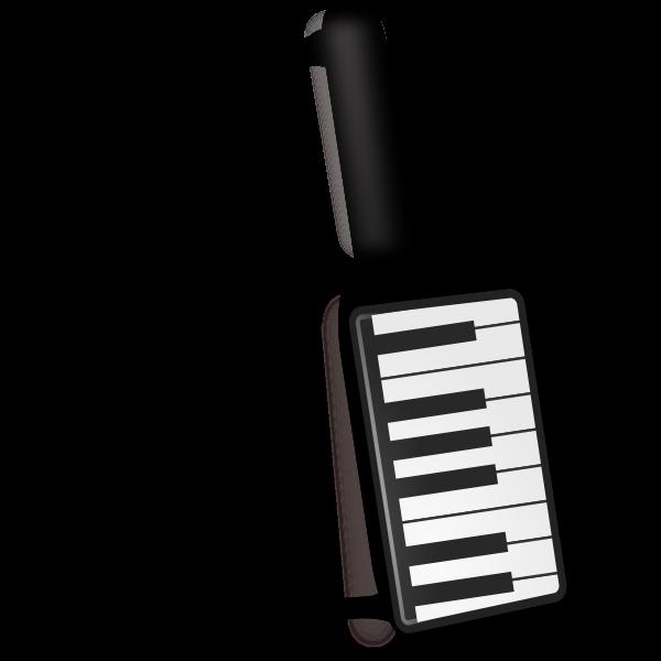 Keytar musical instrument