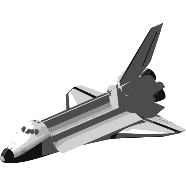 Space shuttle image | Free SVG
