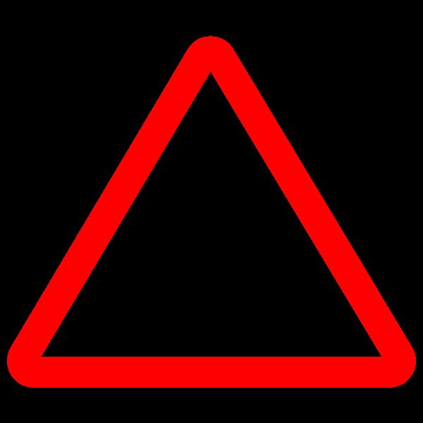 River bank vector road symbol
