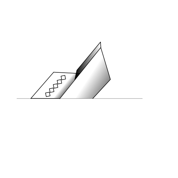 Sinking ship vector image