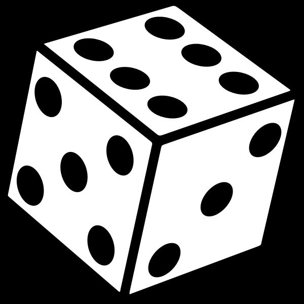 Six sided dice too