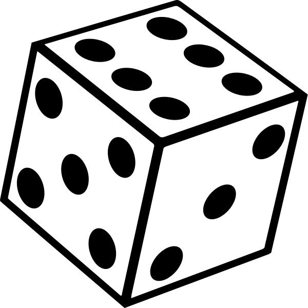 Six sided dice too