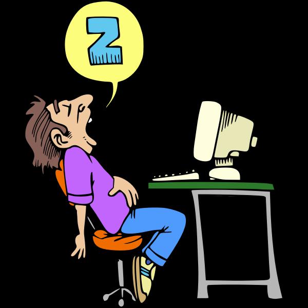 Sleeping Computer User
