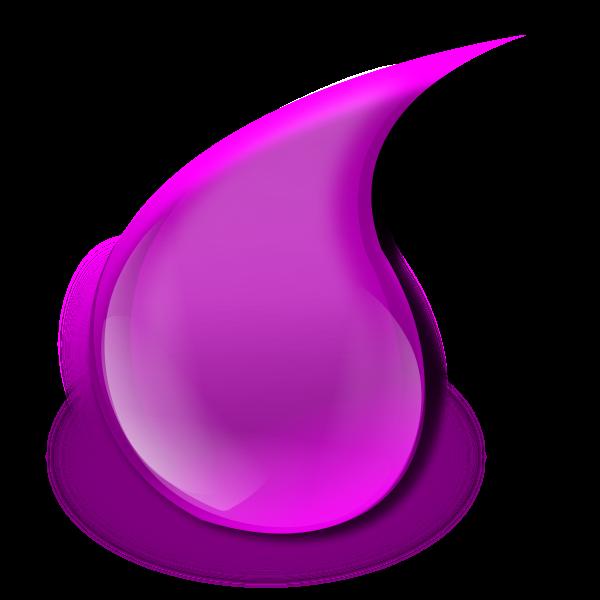 Violet drop