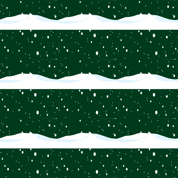 snowPlain seamless pattern