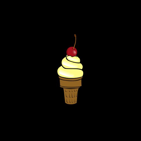 Cherry ice cream image