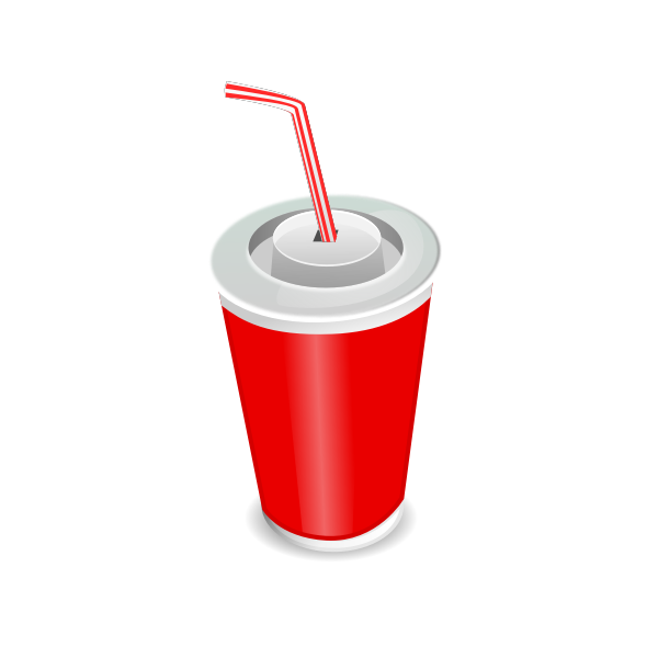 Vector illustration of soda cup