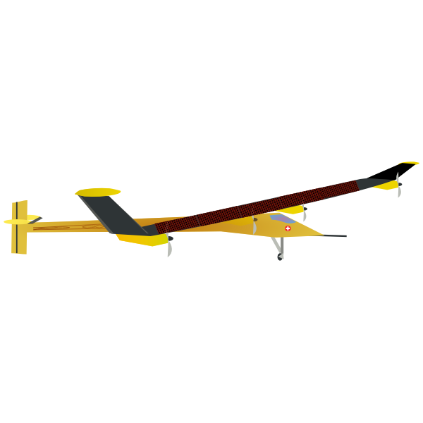 Solar impulse vector