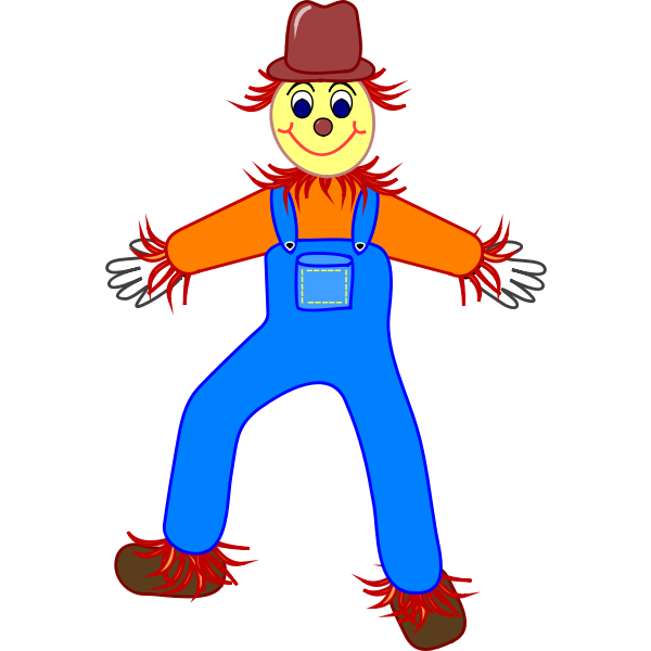 Devilish clown vector image