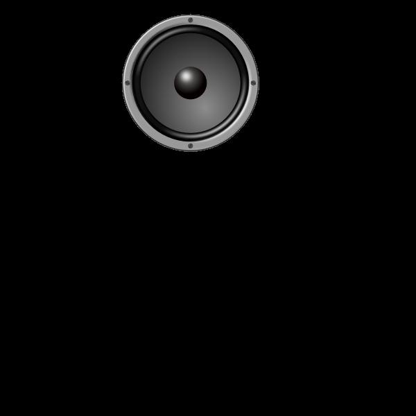 Speaker vector drawing
