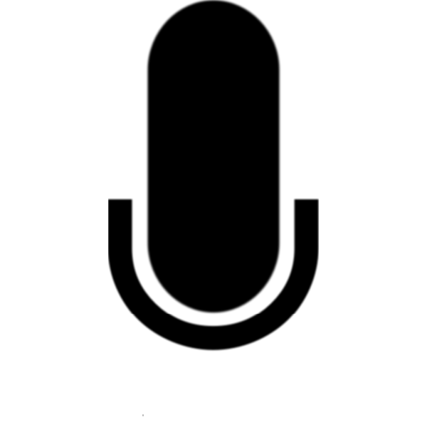 Microphone icon vector clip art