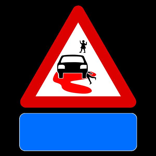 Speed kills sign vector image
