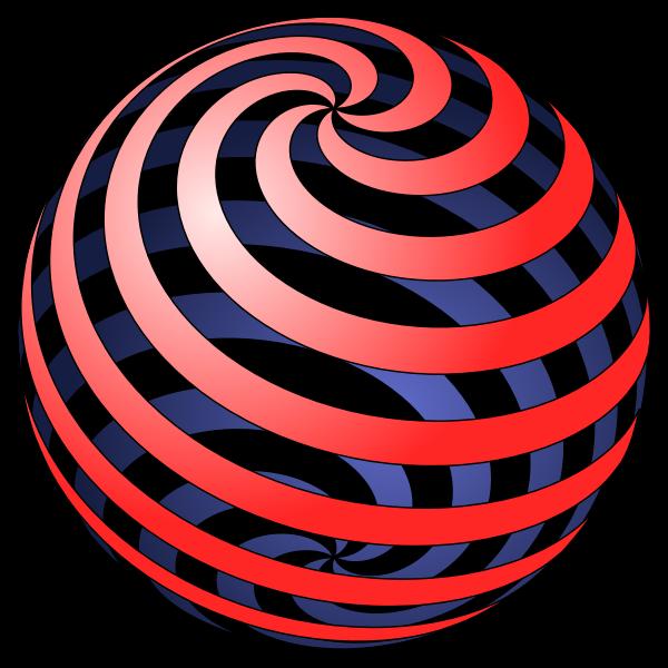Spiral ball