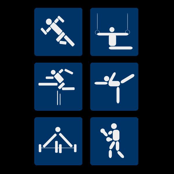 Sport vector pictograms