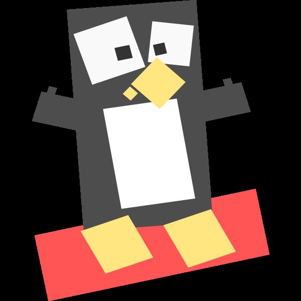 Square penguin