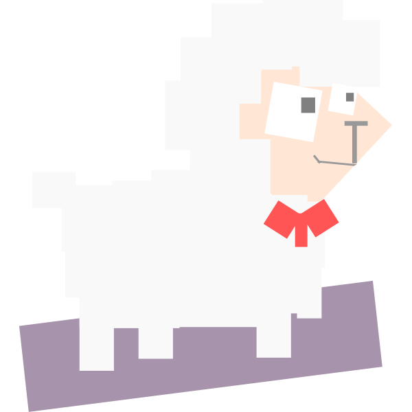 square animal 4 sheep