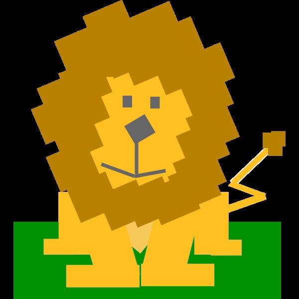 Animal cartoon lion