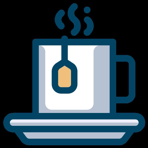 Tea cup symbol