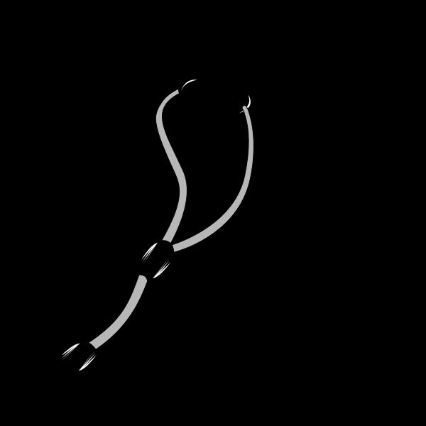 Stethoscope vector graphics