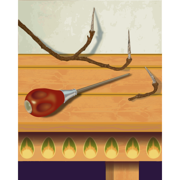 Still-Life With Scratch Awl