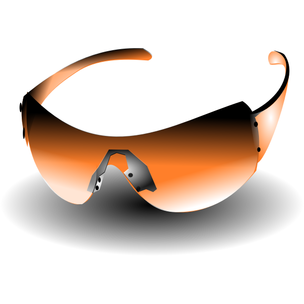 sun glasses orange