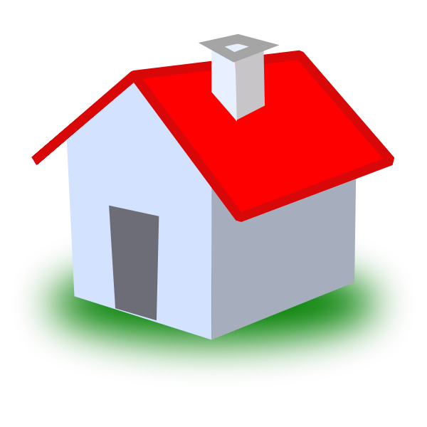 Vector graphics of a house icon