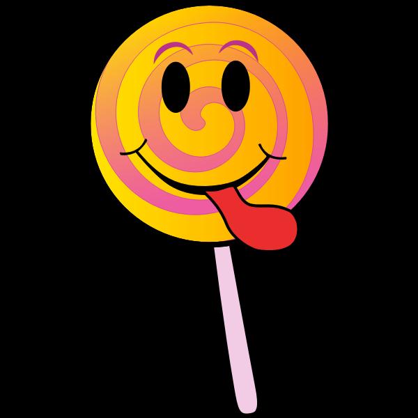 Lollipop smiley