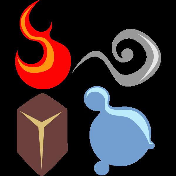 symbolic four elements