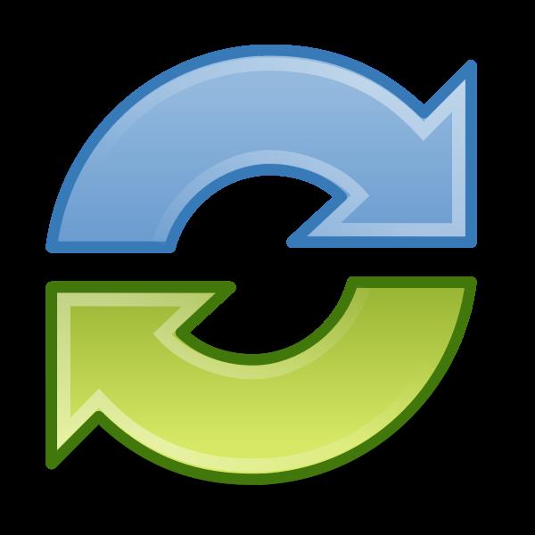 Synchronize symbol