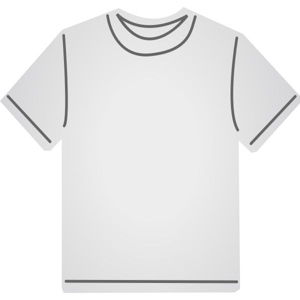 White T-shirt vector graphics