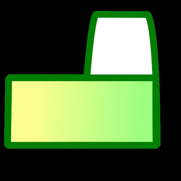 New tab icon vector clip art