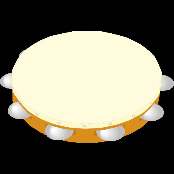 Tambourine vector illustration
