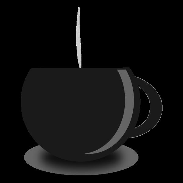 Tea mug vector image