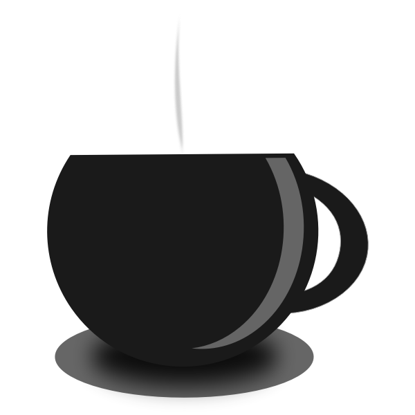 Tea mug vector image